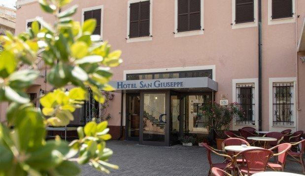 Entrata hotel san giuseppe