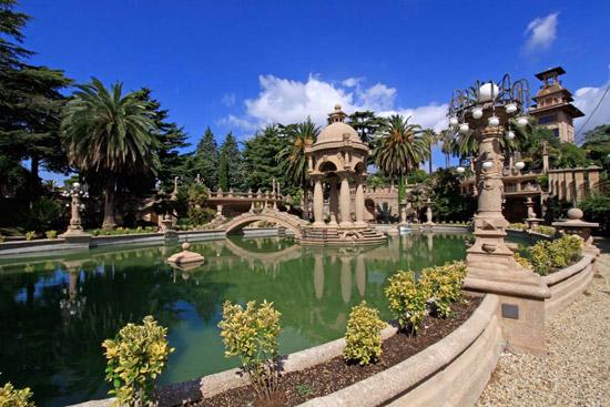 Imperia parco di villa Grock