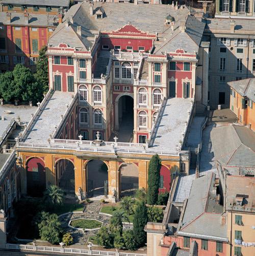 Rolli di Genova palazzi nobiliari patrimonio dell'Unesco