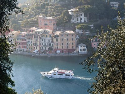 barca a Portofino