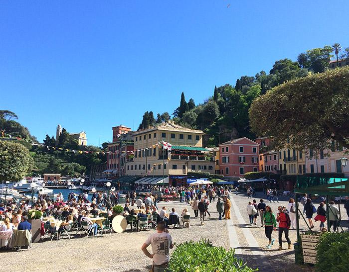 Portofino piazzetta princpiale