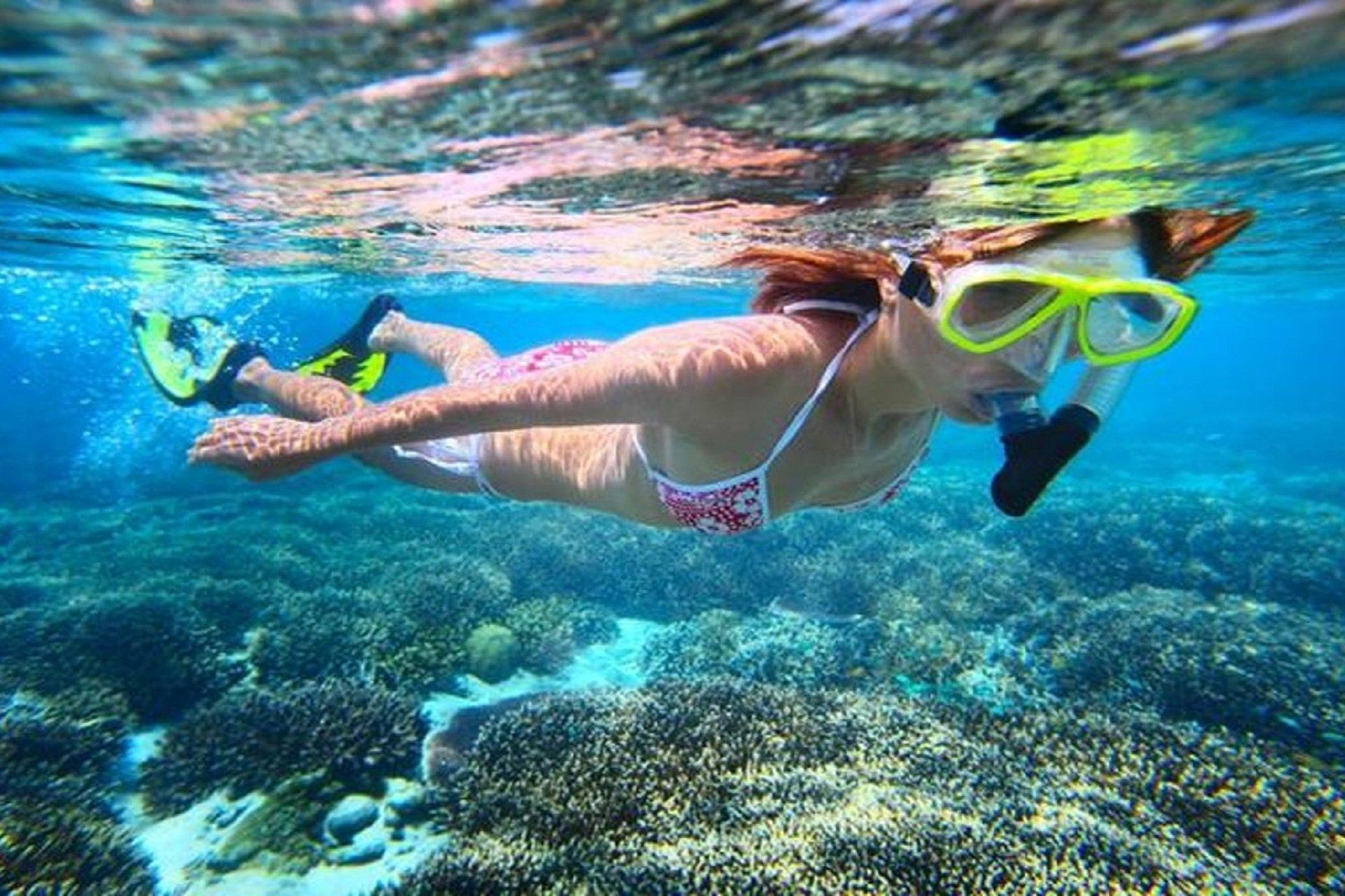 diving o snorkeling a finale ligure