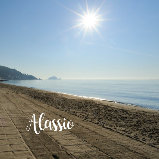 Spiaggia di Alassio - spiagge più belle della liguria
