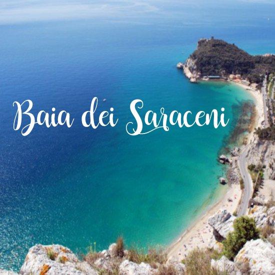 Baia dei Saraceni - spiagge più belle della liguria