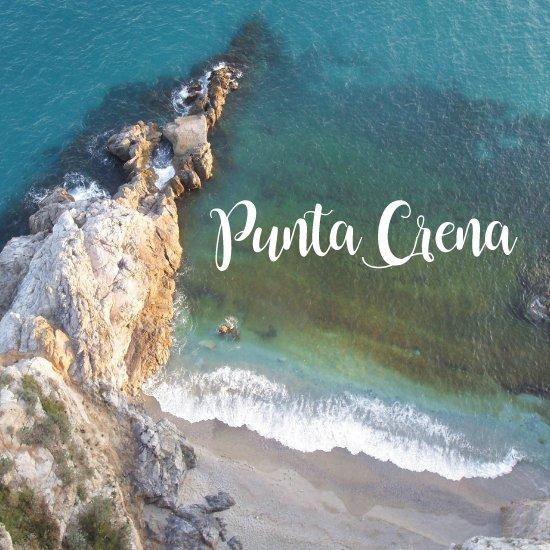 Punta Crena - spiagge più belle della liguria