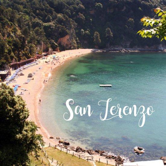 Spiaggia di San Terenzo - spiagge più belle della liguria