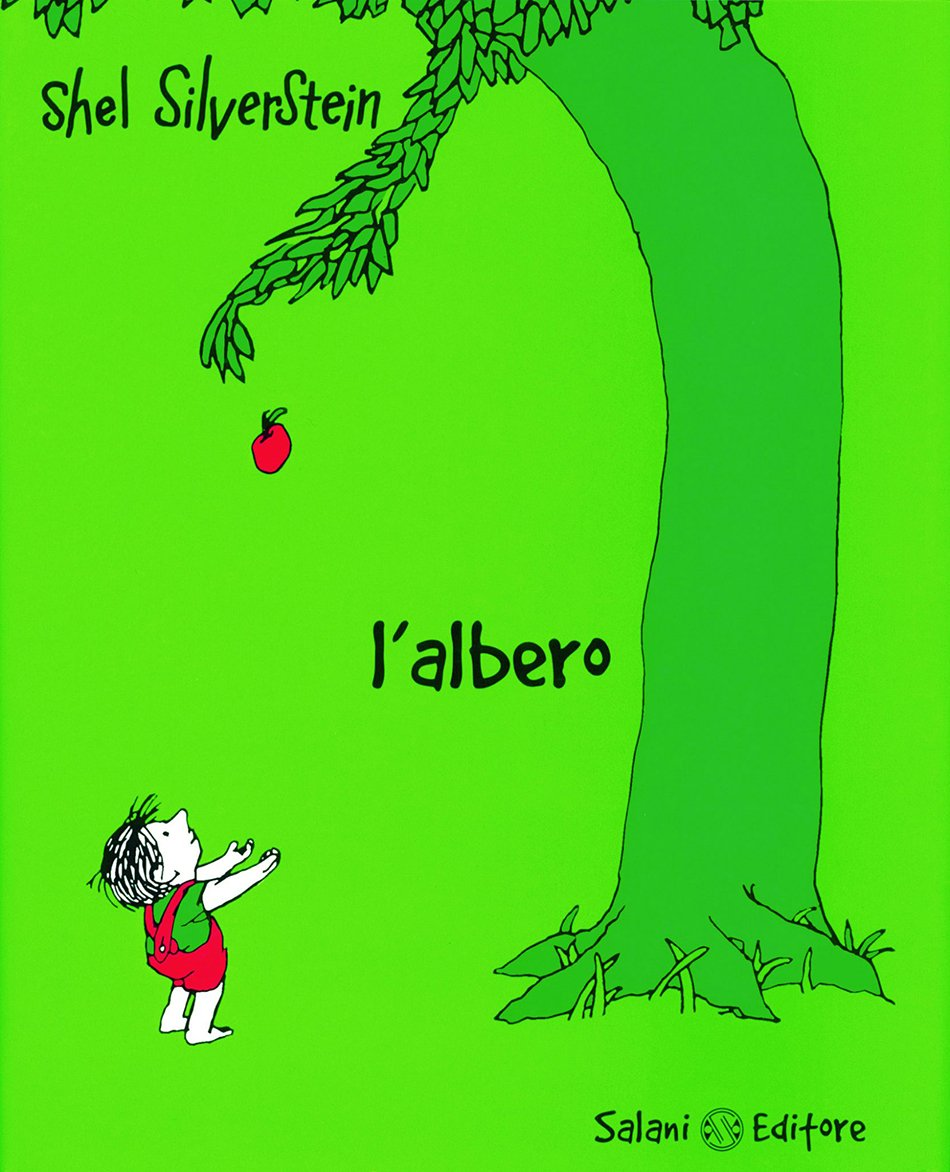 L'albero di Shel Silverstein copertina