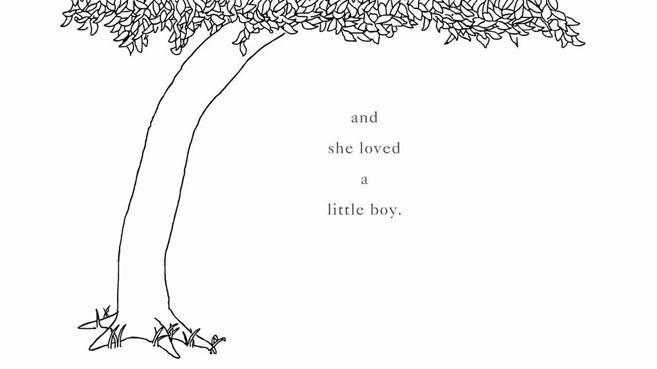 l'albero di Shel Silverstein_and she oved a little boy